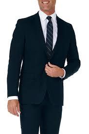 Haggar Sharkskin Stretch Slim Fit 2 Button Suit Separate Coat Nordstrom Rack
