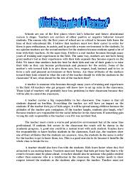 essay on teacher for kids teaching kids to write five paragraph essays an essential high