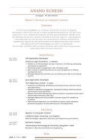 Ios Developer Resume Examples