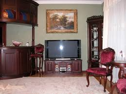 Living Room Tv Unit Furniture Living Room Louver Tv Cabinet Pictures Decorations Inspiration