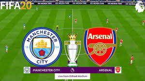 FIFA 20 | Man City vs Arsenal - English Premier League - Full Match &  Gameplay - YouTube