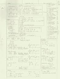 circuit ysis formula sheet