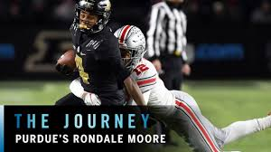 Get To Know Rondale Moore Purdue Big Ten Football The Journey