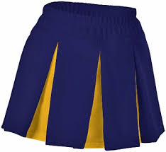 Alleson Cheer Size Chart E16306 Alleson Multi Pleat Cheerleaders Uniform Skirts My