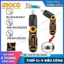 Bộ tua vít đa năng 33 chi tiết INGCO HKSDB0338 tuốc nơ vít đóng mở 2 chiều  tự động có nam châm sửa điện thoại máy tính [XTOOLs][XSAFE]