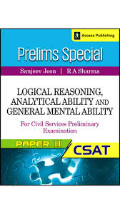 buy prelims special logical reasoning analytical ability and prelims special logical reasoning analytical ability and general mental ability for civil services preliminary