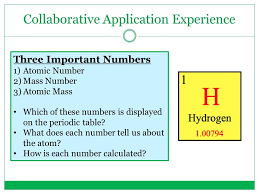 CHEM-TO-GO LESSON 5: BASIC ATOMIC STRUCTURE CONVERSATION STARTER ...