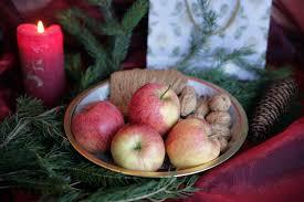 Weihnachtliche Stimmung Mit äpfeln Deutschland Mein Garten