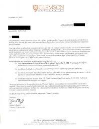 sample awards national center for college planning clemson award letter