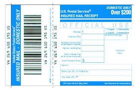 Usps Insurance Chart Dmm 503 Extra Services