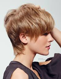 Practical Hairstyles For Moms Short Haircut With A Longer Neck Line Side View Nice