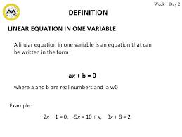 equa definition math definition linear equation equations definition math simple