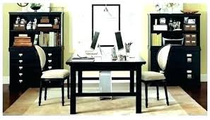 two desk home office. Double Desk Home Office Green By Via Furniture Desks Two Sided Thomasville  Pedestal Full Size Two Desk Home Office