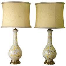 hollywood regency lighting. pair of mid century lamps in glass hollywood regency 1 lighting t