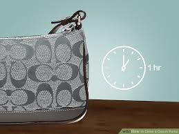 image titled clean a coach purse step 4