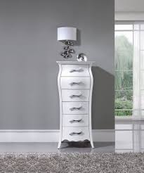 Nelly  White M C E B S Modern Bedrooms Bedroom - Bedroom tallboy furniture