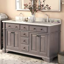 60 inch double sink vanity white