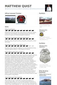 Police Officer Resume Samples Visualcv Resume Samples Database