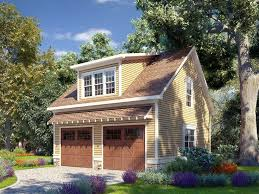 2-Car Garage Plan with Loft, 019G-0010. Try this style with a single ...
