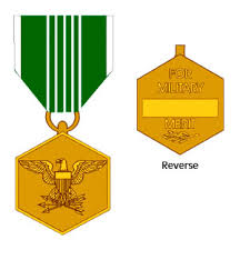 Army Ribbon Chart 2017 Description Of The Army Commendation Medal Including Award