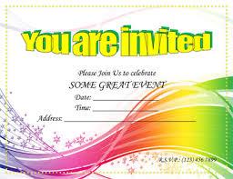 invitation party templates word party invitation templates oyle kalakaari co