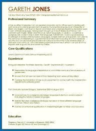 Language Skills Resume Awesome Resume Skills Language Language Skills Cv Example Simple Emberskyme