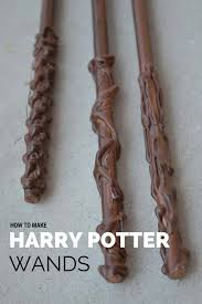 how to make harry potter wands tried