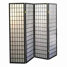 cherry 4 panel room divider r566 4 the home depot