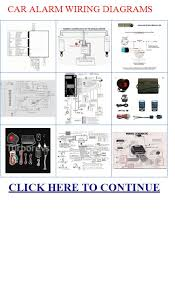 car alarm wiring diagrams carbine alarms tm car alarm wiring diagrams