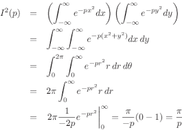 Integral Of A Complex Gaussian Spectral Audio Signal Processing