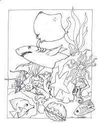 Free Printable Pictures Of Ocean Animals Coloring Pages For
