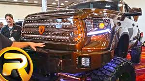 toyota trucks 2015 custom. Perfect Trucks Custom 2015 Toyota Tundra Truck With Bully Dog Chip And MBRP Exhaust SEMA   YouTube To Trucks