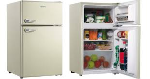 refrigerator walmart. hurry over to walmart.com where you can snatch up this galanz 3.1 cu ft double door retro refrigerator for just $43.90 shipped (regularly $134+). walmart e