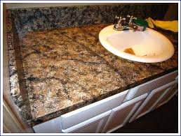 painted faux granite countertop faux granite finish kitchen diy faux black granite countertops diy faux granite