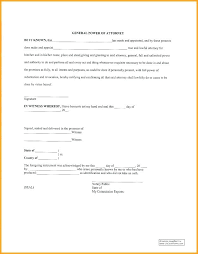 Form Sample Poa Power Of Attorney Florida Elektroautos Co
