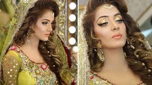 kashees gorgeous mehndi makeup and hairstyle by kashif aslam
