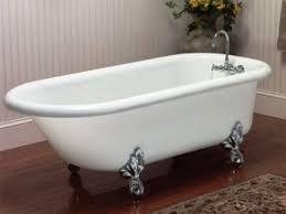 acrylic clawfoot tub
