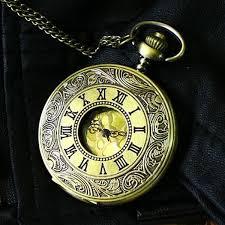 aliexpress com buy luxury bronze vintage pocket watch big gold luxury bronze vintage pocket watch big gold r numerals fashion antique casual clock quartz necklace top