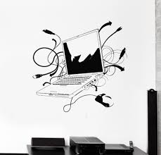 Small Picture Aliexpresscom Buy Computer Vinyl Wall Sticker Laptop Computer