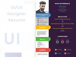 resume ux designer ui ux designer resume free download uplabs