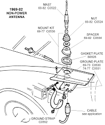 109 6982 non power antenna in hurst line lock wiring diagram