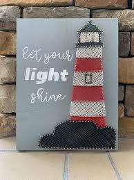 let your light shine lighthouse string