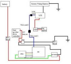 vga port wiring diagram images port vga svga monitor sharing lcd to vga diagram lcd wiring diagram and circuit schematic