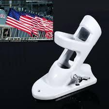flag pole and holder alloy 2 angle positions flagpole holder wall mounting bracket for flag pole flag pole
