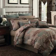 teal king comforter set galleria brown ont chenille jacquard woven 4 piece and teal king comforter