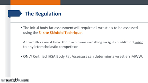 3 Site Skinfold Chart Ihsa Rules Interpretation Presentation Ppt Download