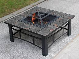 fire pit ceramic tile outdoor bbq stove with grill 01 jpg