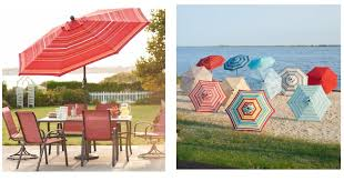 the sun will be here before you know it why not invest in this sonoma goods for life 9 ft crank tilt patio umbrella