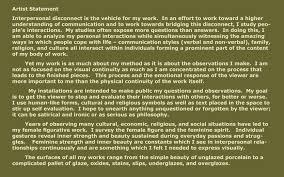 statement jpg copyright 2009 nancy morales