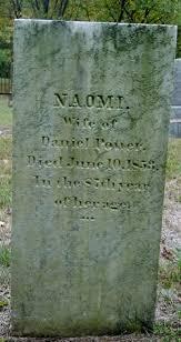 Naomi Potter (1766-1853) - Find A Grave Memorial